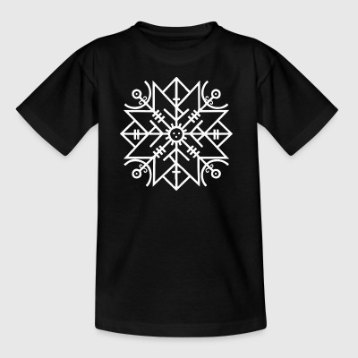 Viking Rune Protection - T-skjorte for barn