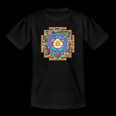 buddhist mandala - Kids' T-Shirt