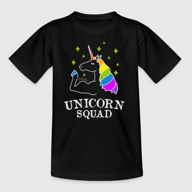 Unicorn Squad - gym fitness - T-shirt barn