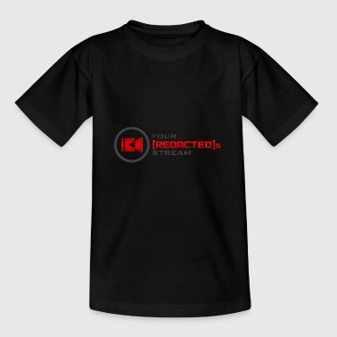 Four [REDACTED]s Stream Logo - Kids' T-Shirt
