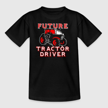 FUTURE TRACTOR DRIVER - Kids' T-Shirt