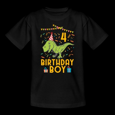 Birthday Boy - 4th birthday - Kids' T-Shirt