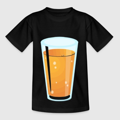 Juice glass - Kids' T-Shirt