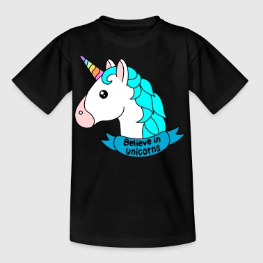 Believe in unicorns - Kids' T-Shirt