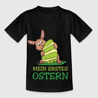 My first Easter - Easter bunny with egg - Kids' T-Shirt
