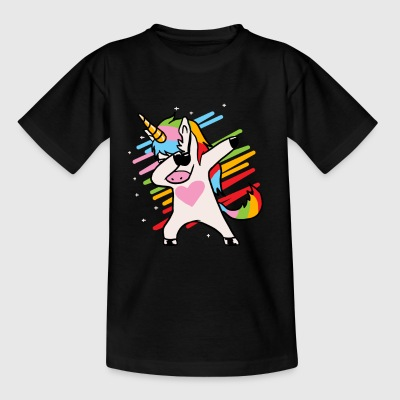 Unicorn Dab - Kids' T-Shirt