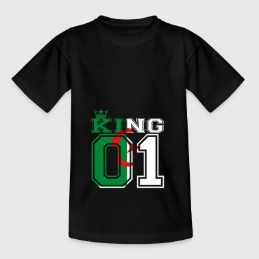 couple land king 01 prince Algerien - Kinder T-Shirt