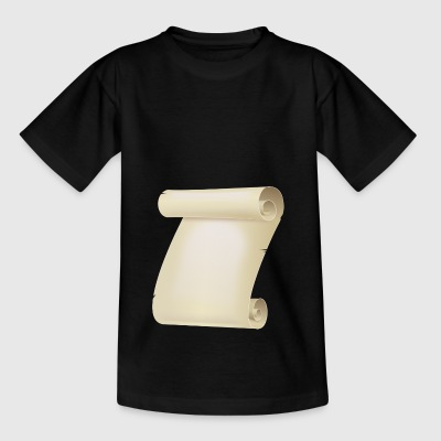 Pergament Rolle - Kinder T-Shirt