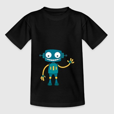 glad Robot - T-skjorte for barn