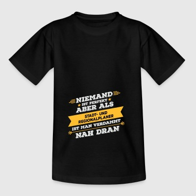 City and regional planner profession gift - Kids' T-Shirt
