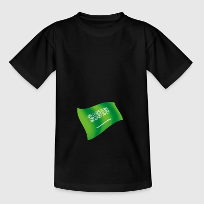 Saudi Arabia Riyadh SAU FLagge flag national colors - Kids' T-Shirt