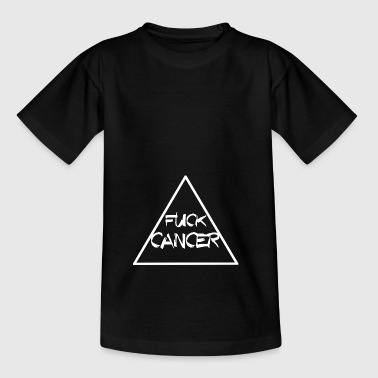 CANCER BAISE TRIANGLE RUBAN KAMP CONTRE LE CANCER - T-shirt Enfant