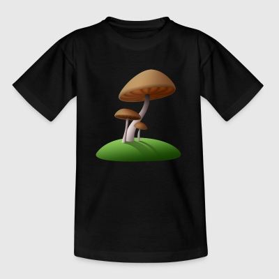 Pilze - Kinder T-Shirt