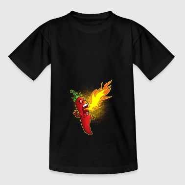 Chili crache du feu - T-shirt Enfant