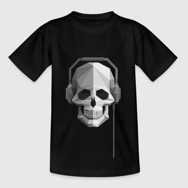 Tete Tod roter Helm - Kinder T-Shirt