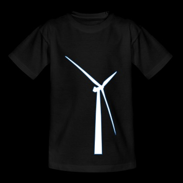 windmill windmill wind turbine windrad9 - Kids' T-Shirt