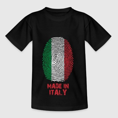 Italy flag - Made in Italy - gift - World Cup fan - Kids' T-Shirt