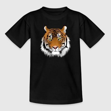 Tiger's head - Kids' T-Shirt