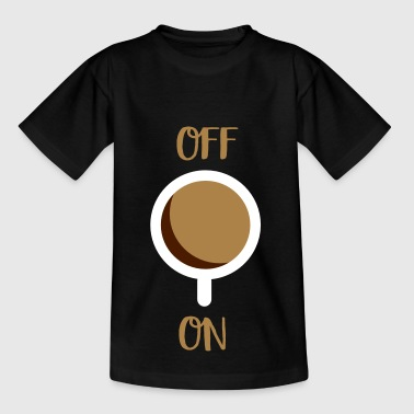 Interrupteur 2541614 128168776 café - T-shirt Enfant