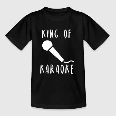 King of karaoke music singing gift idea - Kids' T-Shirt