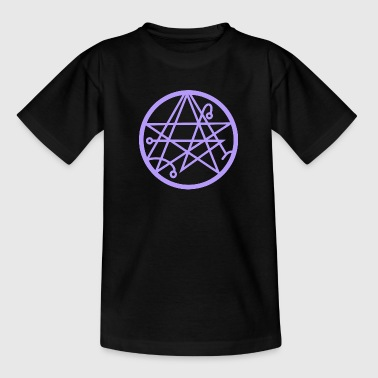 Necronomicon (violet) - Kinder T-Shirt