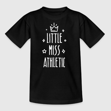 Little Miss Athletic - T-shirt Enfant