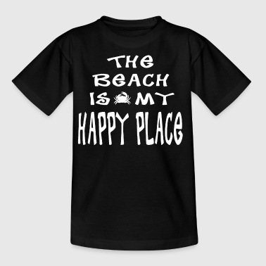 The Beach er min Happy Place - Børne-T-shirt