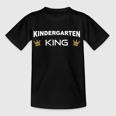 Kindergarten King with crown - Kids' T-Shirt
