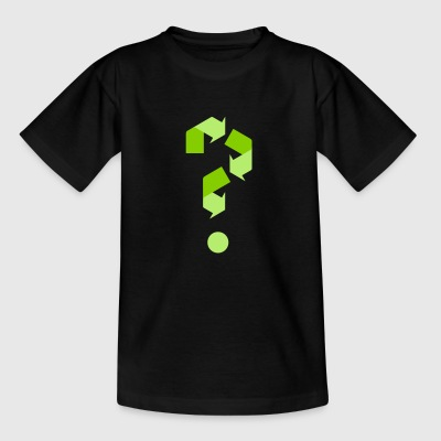 recycling - Kinderen T-shirt