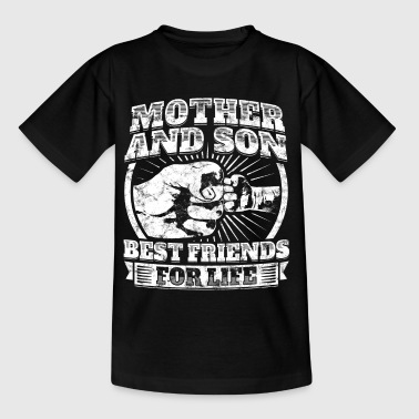 Mutter Sohn Partner Shirt Mama Kind Geschenk - Kinder T-Shirt