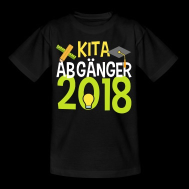KITA ABGÄNGER school child enrollment elementary school - Kids' T-Shirt