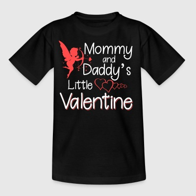 Mommy and daddy´s little valentine - Kinder T-Shirt