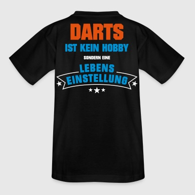 Darts Sportart - Kinder T-Shirt