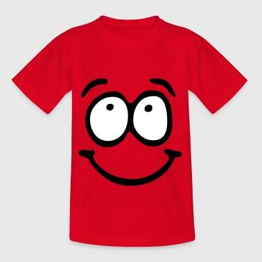 Funny Face, Cartoon Face, Trickfilm, Smiley - Kinderen T-shirt