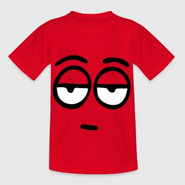 Funny Face, Cartoon Face, Trickfilm, Smiley - Kinder T-Shirt