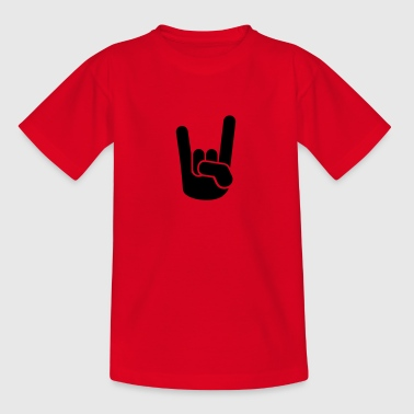 Rock Metal Hand - Kinder T-Shirt