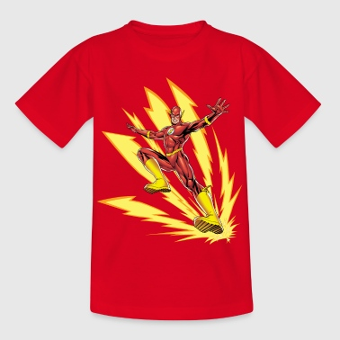 DC Comics Ligue De Justice D'Amérique Flash - T-shirt Enfant