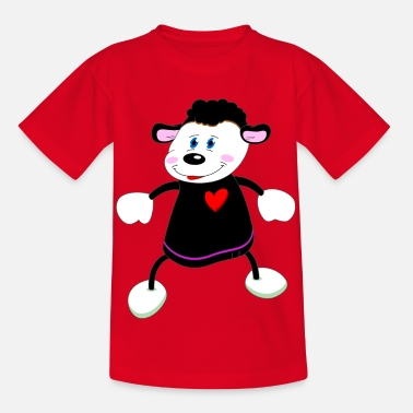4595a0cca Sau ull lam lam hjerte dans valentines dag Baby T-skjorte | Spreadshirt