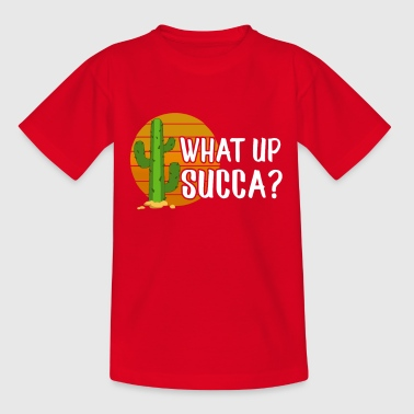 Cocktail Slogan What is Succa Cactus T-Shirt - Kids' T-Shirt