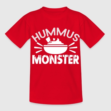 Hummus Monster - Kinder T-Shirt