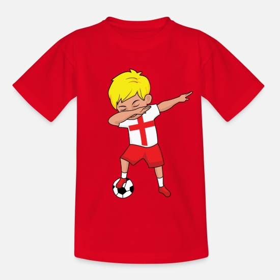 England T-Shirts - England football fan gift - Kids' T-Shirt red