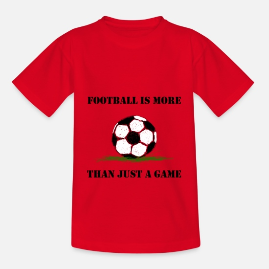 Play T-Shirts - Soccer Team Game Stadium Public Viewing - Kids' T-Shirt red