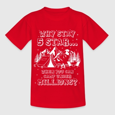 I only stay million stars - Gift - Kinder T-Shirt