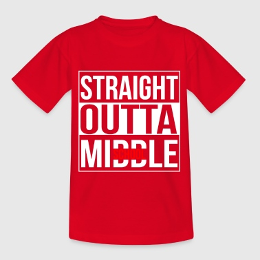 Straight Outta Middle School - Børne-T-shirt