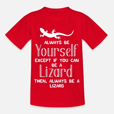Lézard Lézard - Lézards - Lézards - Lol - Cadeau - T-shirt Enfant