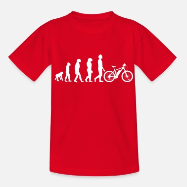 Sumu Lee Evolution Downhill Mountain Bike MTB Bike Tour BMX - Camiseta niño