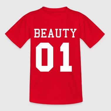 Beauty 01, Partnershirt, Beast 01 - Kinder T-Shirt