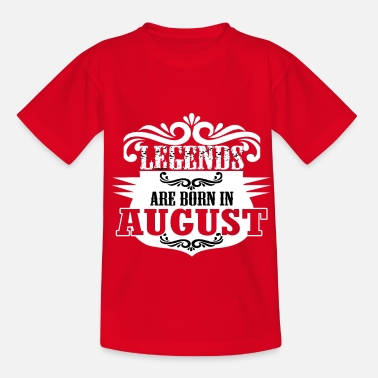 Bday bday august - Kinder T-Shirt