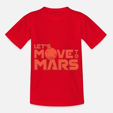 Neptun Let's move to Mars - Kinder T-Shirt