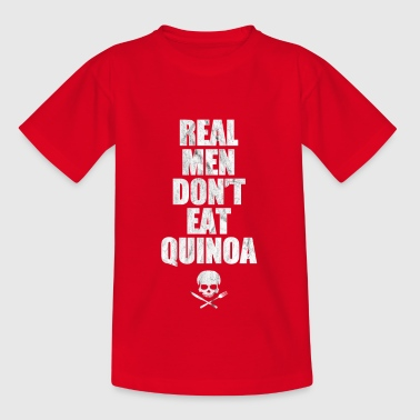 Meat meat eater quinoa food kitchen gift - Kids' T-Shirt